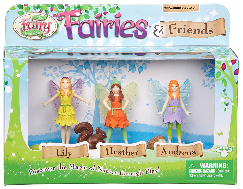 My Fairy Garden Fairies and Friends Figurines InterplayUK FG203