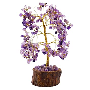 Harmonize Amethyst Stone Tree Reiki Healing Kristall Gems Feng Shui ...