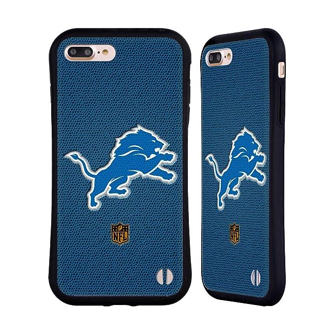 hot sale online b5d76 f7d8d Amazon.com: Official NFL Football Detroit Lions Logo Hybrid Case for ...