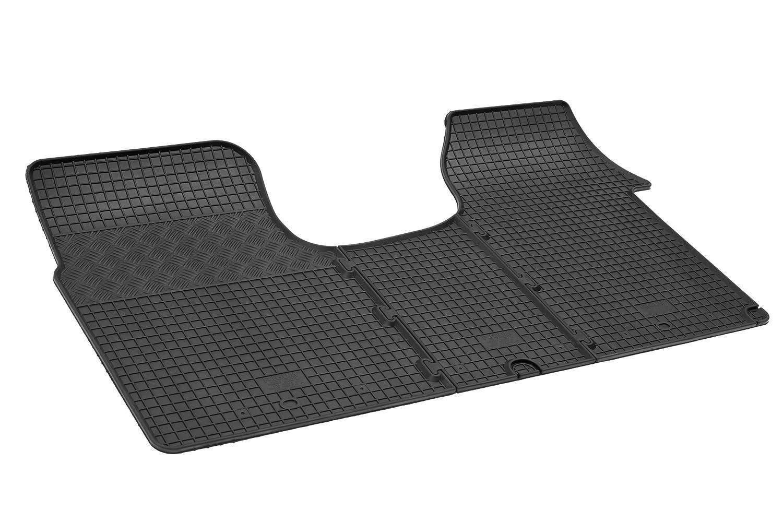 Opel Vivaro ab 2014 Fußmatten Auto Gummi Schwarz Antirutsch Set Automatten Matte