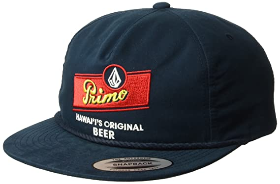 Amazon.com  Volcom Men s Primo Chug Cap Navy  Clothing fc01cbc3513