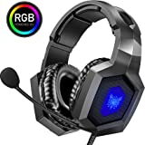 ONIKUMA Gaming Headset - Stereo K8 Gaming Headset for PS4 Xbox One, Noise Cancelling Mic Over Ears Gaming Headphones…