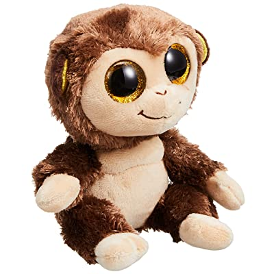 "Ty Beanie Boo 6"" Plush Audrey The Monkey: Toys & Games"