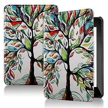 IVSO Funda Carcasa para Nuevo Kindle Paperwhite 2018, Slim PU Protectora Carcasa Cover para Amazon Kindle Paperwhite (10th Generation, 2018 Release), ...