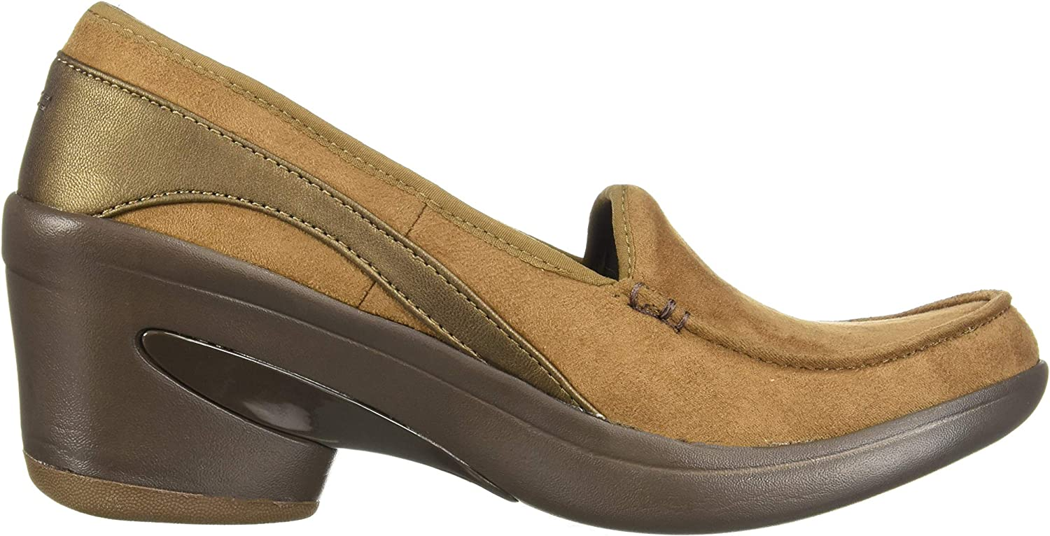 Wells Womens JL9985 Faux Suede Fur Lined Slip On Flat Moccasins