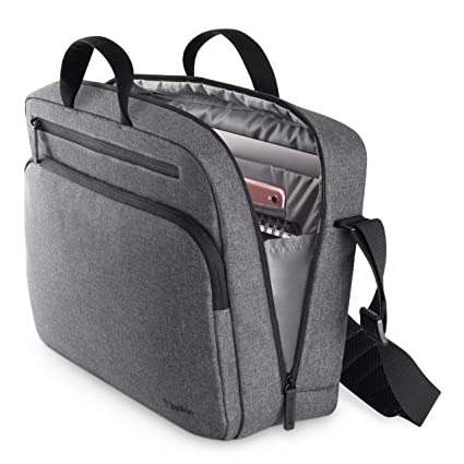 Amazon.com  Belkin Classic Pro Messenger Bag for Laptops up to 15.6 ... a33a553bfe3be