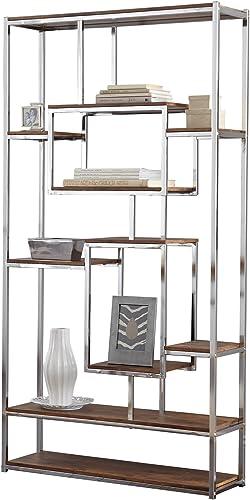 Steve Silver Company Alize Bookshelf, 36 W x 12 D x 71 H