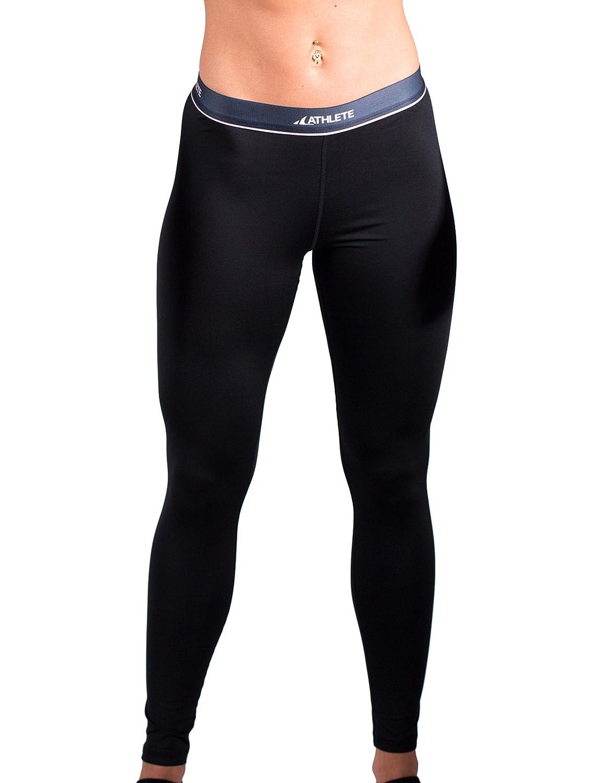 COOVY Sports ATHLETE Women's Lightweight Base Layer Heat Gear Tights / Leggings