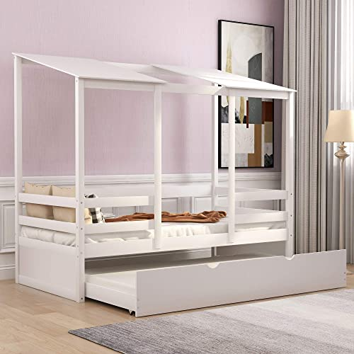 SOFTSEA Kids Platform Bed