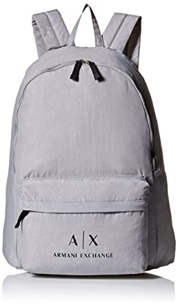 2792b14d8ef Amazon.com  Armani Exchange Men s Crinkle Nylon Backpack