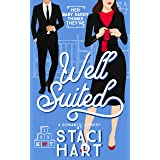 Well Suited: A Surprise Baby Romantic Comedy (Red Lipstick Coalition Book 4)