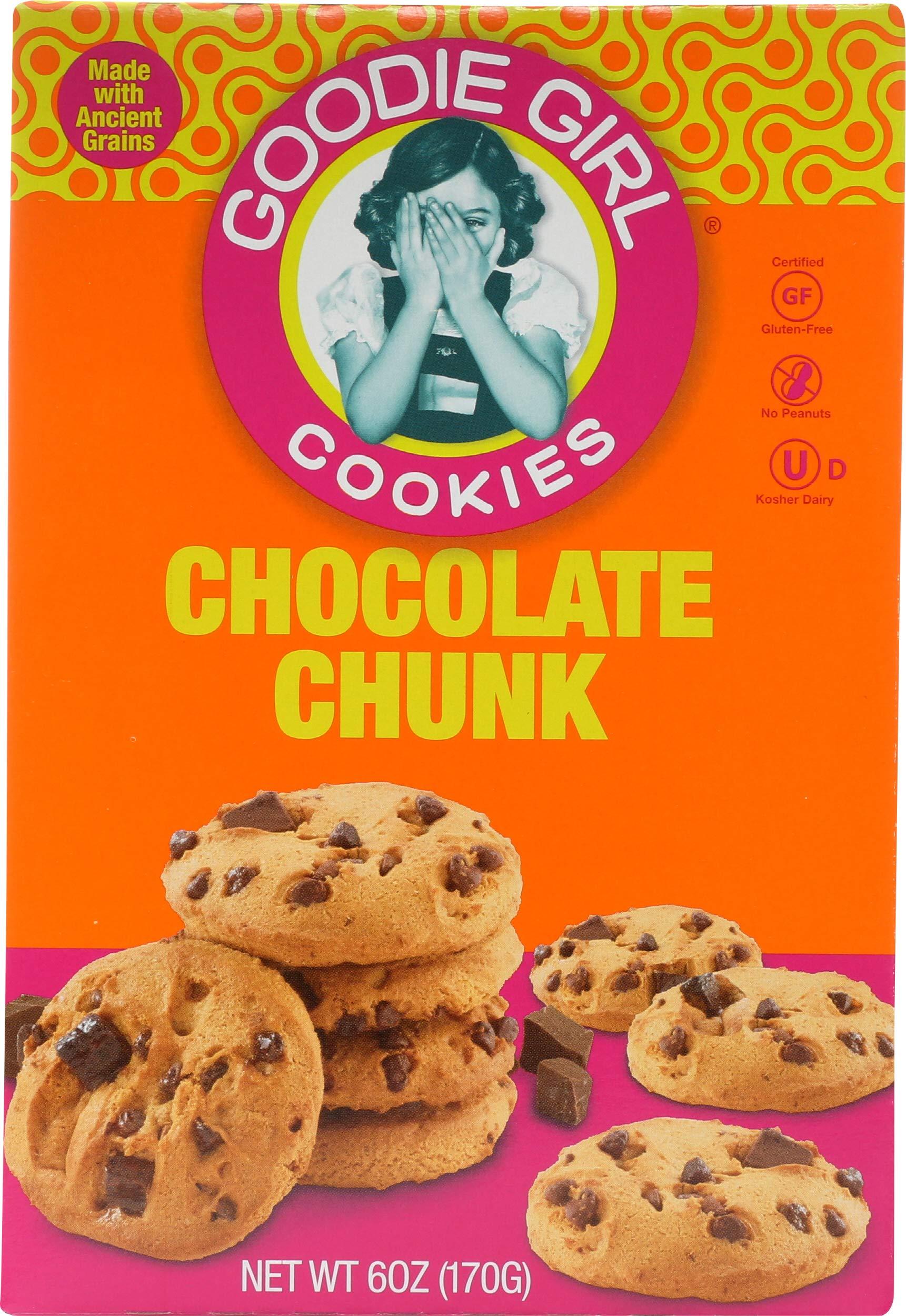 Goodie Girl Cookie Gluten Free Quinoa chocolate Chip, 6 oz