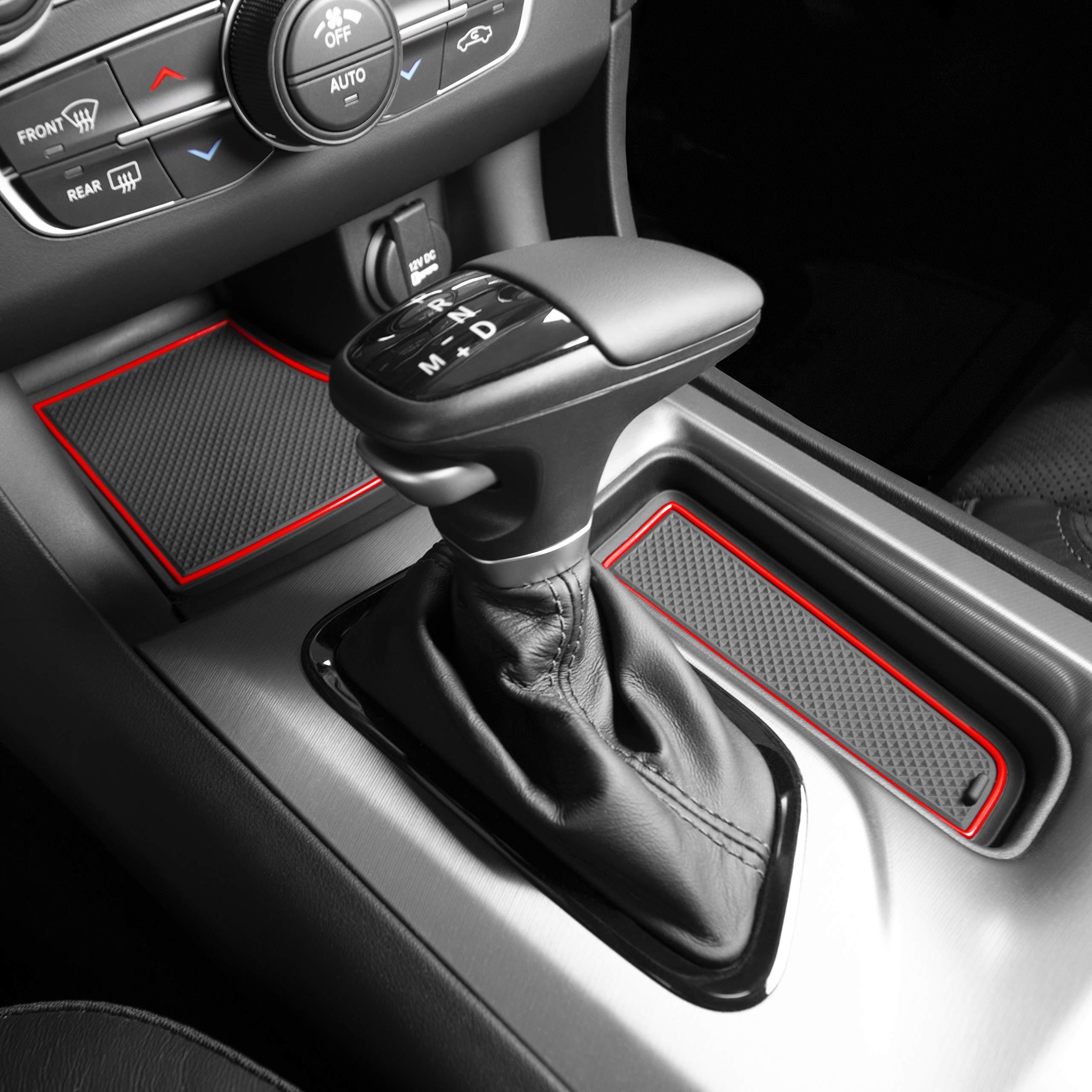 Yoaoo/® 2x Black OEM Original Charger Nameplate Emblems Badges Decal for Dodge Charger Chrysler Mopar Chrome Finish Yoaoo-Do Black
