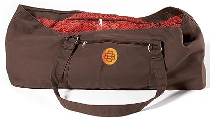 Gaiam Banyan and Bo Yoga Tote Bag, Chocolate