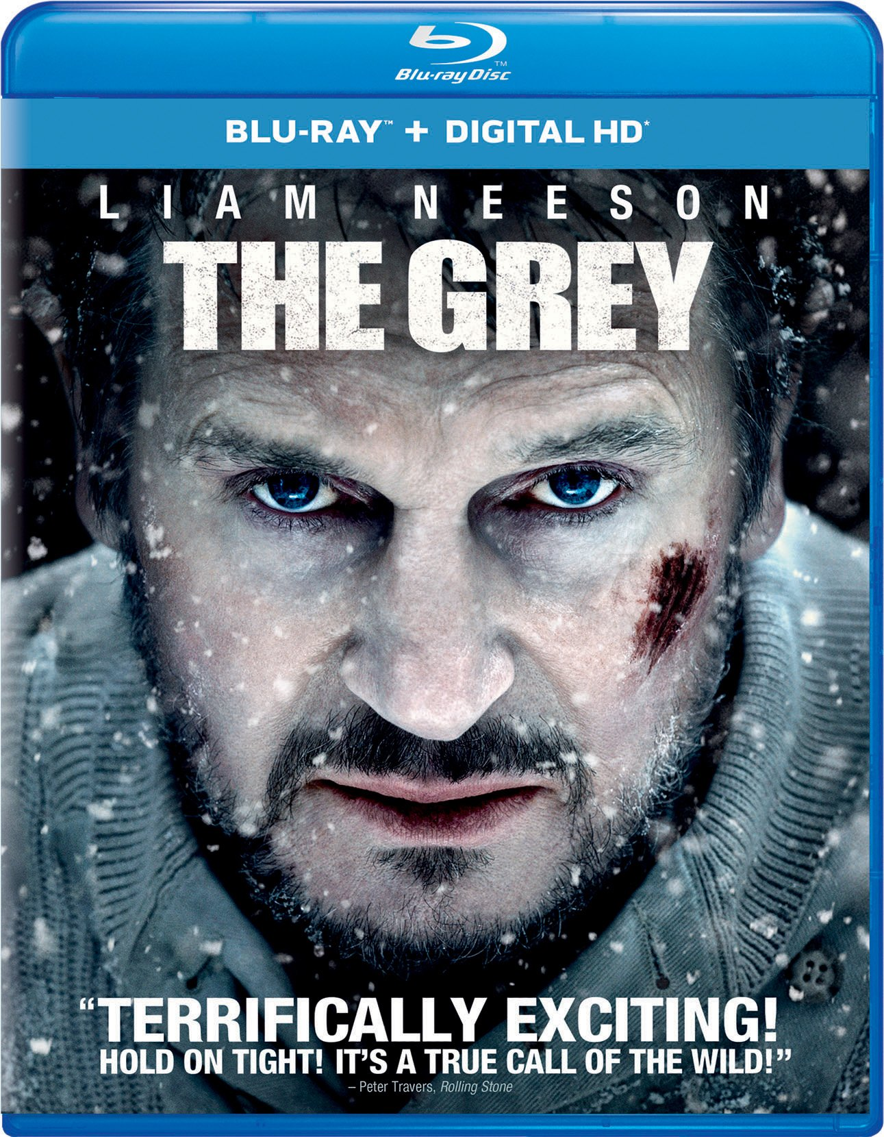 Blu-ray : The Grey (Snap Case, Digitally Mastered in HD)