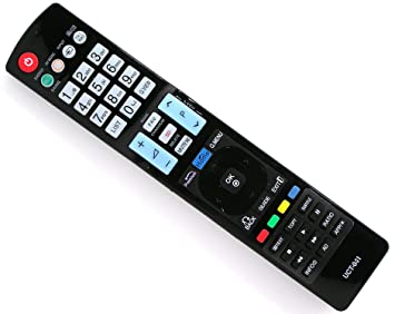 1ed04da597ce0 Classic-Mando a distancia de sustitución UCT-041 para LG AKB73756502  AKB72914020 AKB72914021 AKB72914274 AKB72914050 TV televisor  Amazon.es   Electrónica
