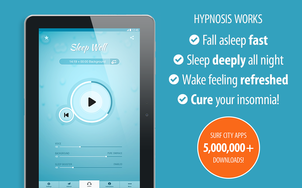 Amazon sleep well hypnosis free cure insomnia with guided 000 ccuart Images