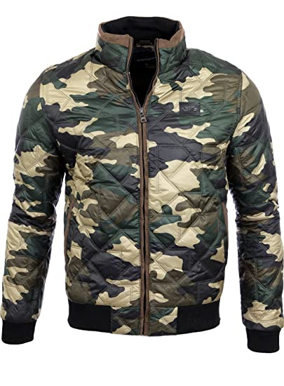 Ärmel Quilted Mit Patches Herren Area2buy 715 A Jacke Übergangs Windbreaker bvY6gI7fy