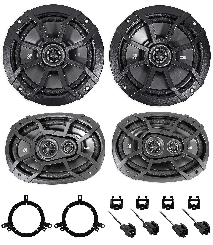 Kicker Front Rear Factory Speaker Replacement Kit For Installtrailerwiring2004dodgeintrepid118364644jpg 1998 04 Dodge Intrepid Car Electronics