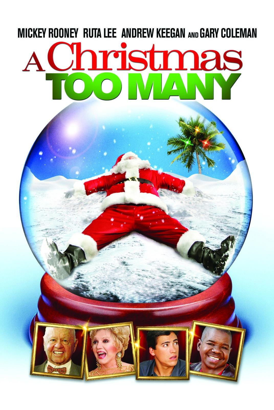 Amazon.com: A Christmas Too Many: Mickey Rooney, Ruta Lee, Andrew ...