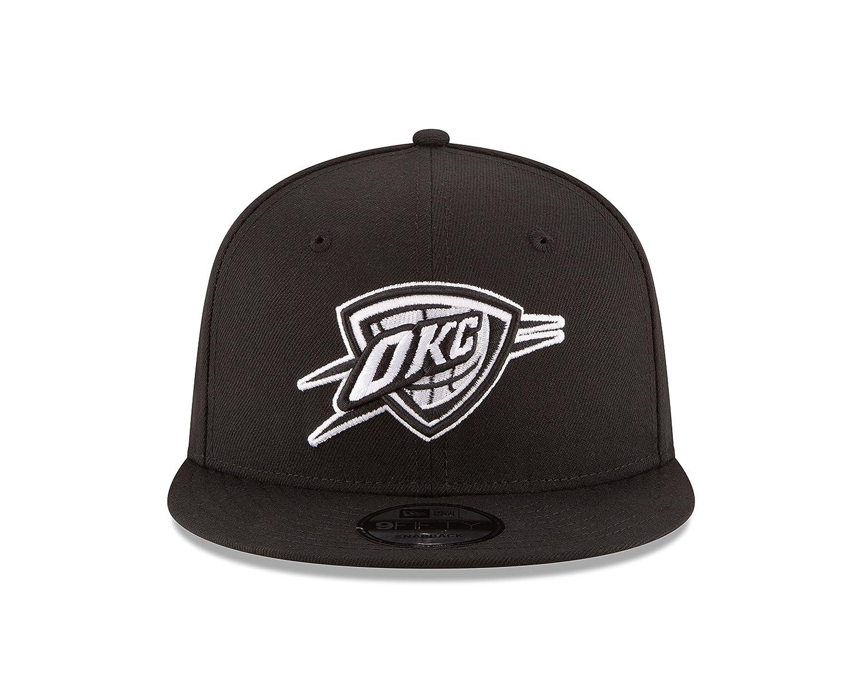 2807f82d ... france amazon new era nba oklahoma city thunder mens 9fifty snapback cap  one size black sports
