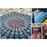 The Boho Street Branded Cotton Mandala Roundies,Beach Throw, Indian Mandala Tapestry, Yoga Mat, Picnic Mat , Table throw, Table cover