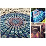 Amazon Price History for:The Boho Street Branded Cotton Mandala Roundies,Beach Throw, Indian Mandala Tapestry, Yoga Mat, Picnic Mat , Table throw, Table cover