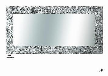 espejo piedra plata