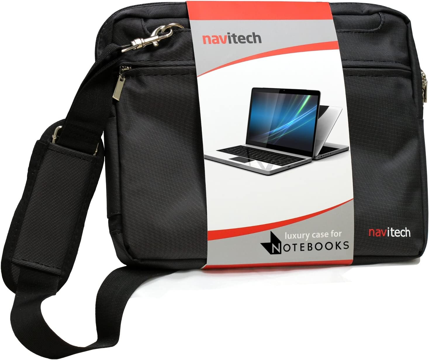 Navitech Black 11.6-Inch Laptop/Notebook/Ultrabook Case/Bag Compatible with The Acer C720 Chromebook/Acer C7 Chromebook/Samsung Chromebook/HP Chromebook 11
