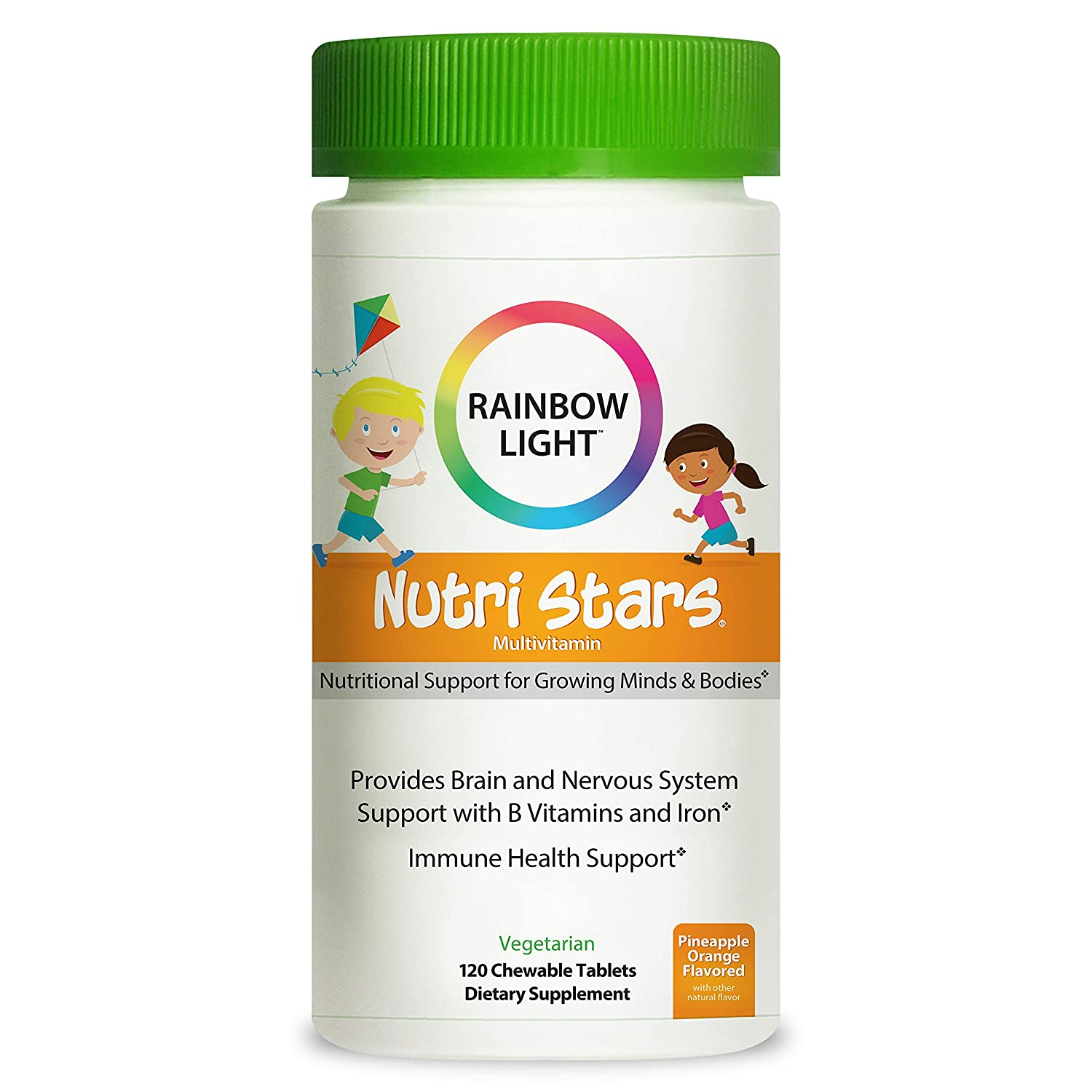 Rainbow Light NutriStars Multivitamin And Iron Supplements