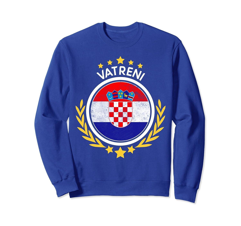 2018 Croatia Hrvatska World Soccer Championship Sweatshirt-ln