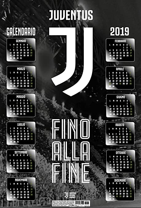 Juventus Calendario.Calendario Juventus 2019 3d Pop Up 37x55