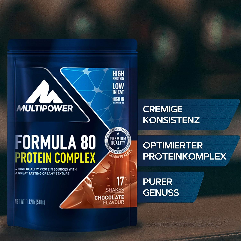 Multipower Formula 80, Sabor Chocolate - 510 gr