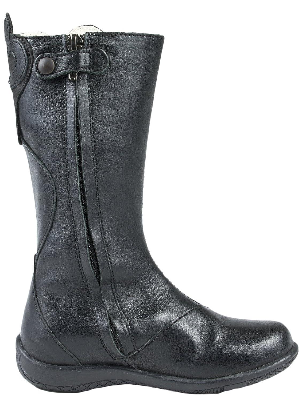 cba2ffa30d32 Primigi Black Leather Boots 27: Amazon.co.uk: Shoes & Bags