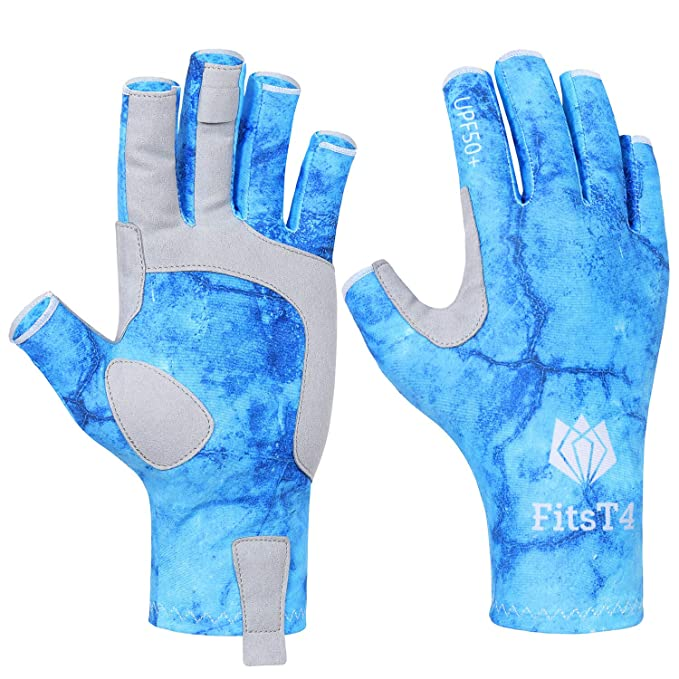 Fit Fingerless Gloves UPF50+ Protective Glove