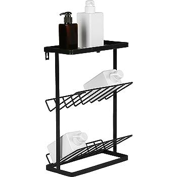 Amazon.com: 3-Tier Standing Metal Bathroom Storage Organizer Shelf ...