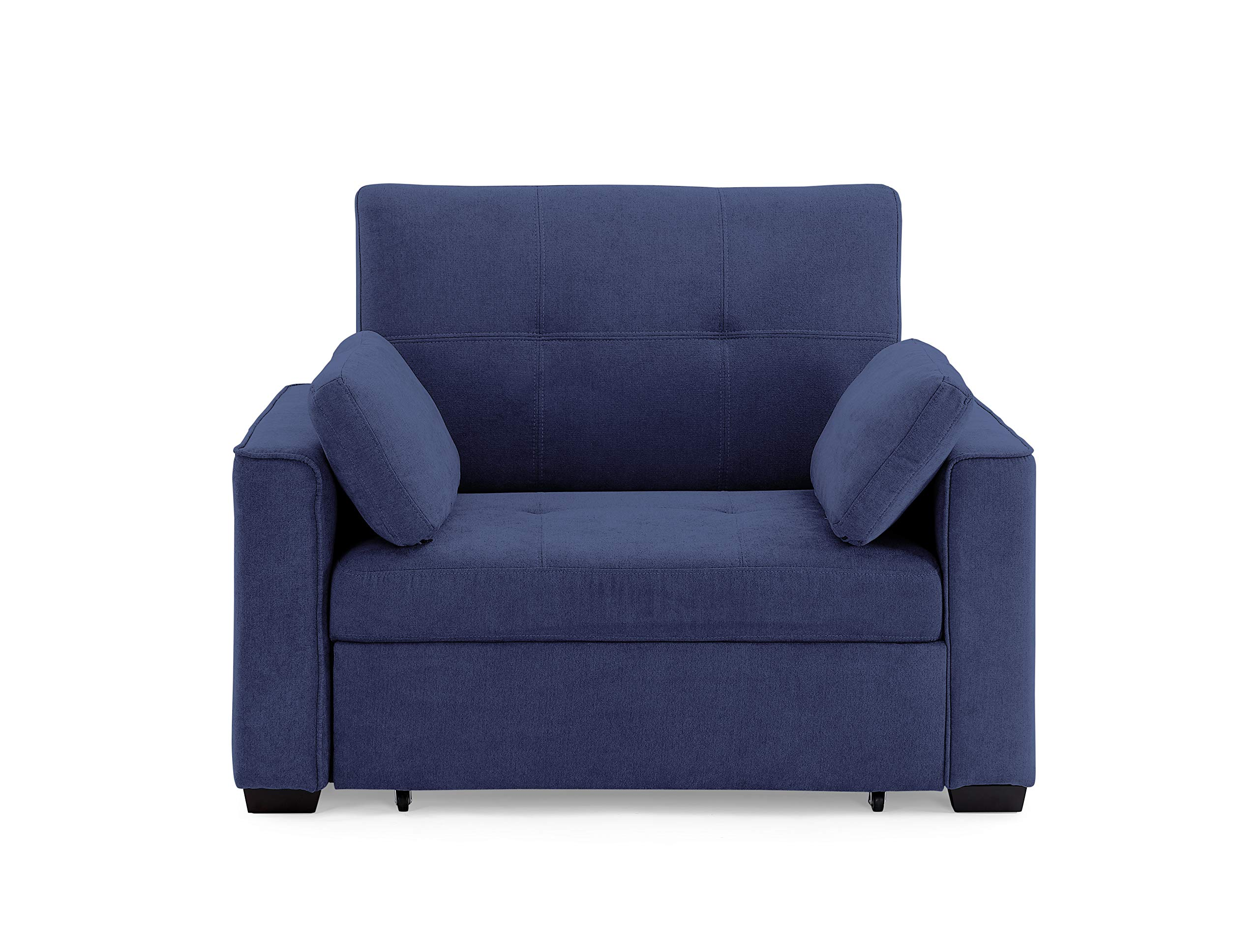 Night & Day Furniture NANTUCKET TWIN NAVY Sofabed, Blue by Night & Day Furniture
