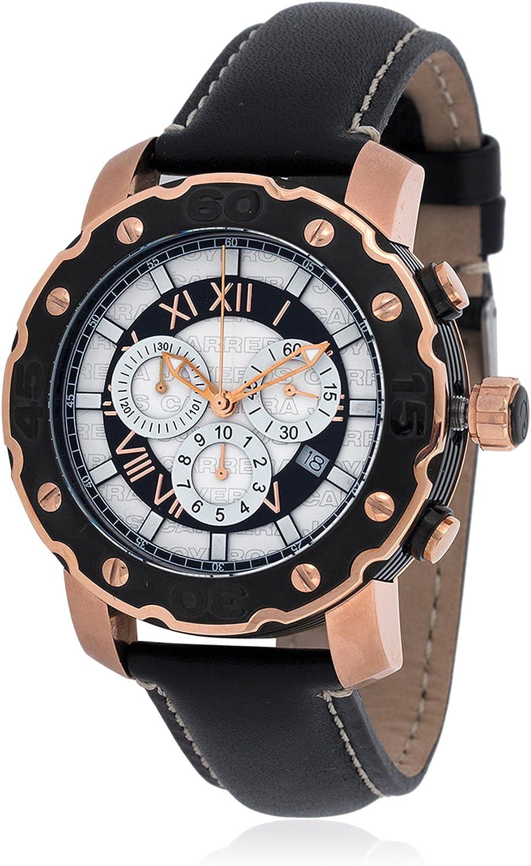 CARRERA Reloj con Movimiento Cuarzo Suizo Man 87.011-PN 44 mm