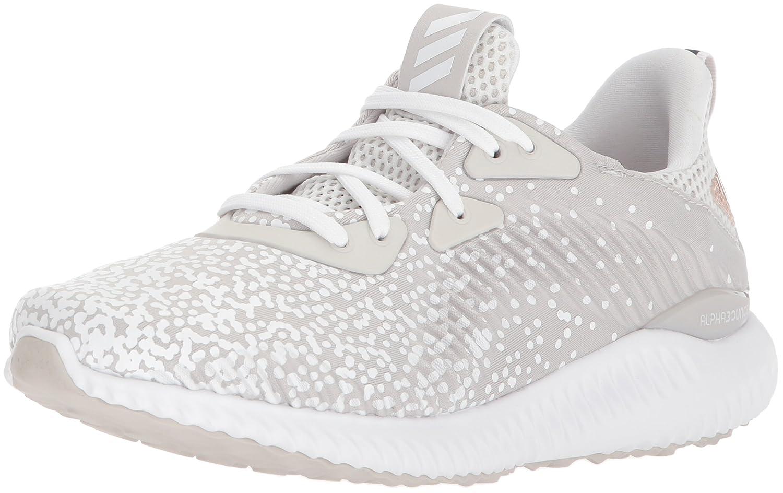 adidas Performance ユニセックスキッズ alphabounce 1 j B071S6H3VF 6.5 Medium US Big Kid|Grey One/White/Grey One Grey One/White/Grey One 6.5 Medium US Big Kid