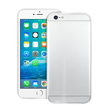 PURO IPC64703NUDETR funda para teléfono móvil Transparente - Fundas para teléfonos móviles (Funda, Apple, iPhone 6, Transparente)