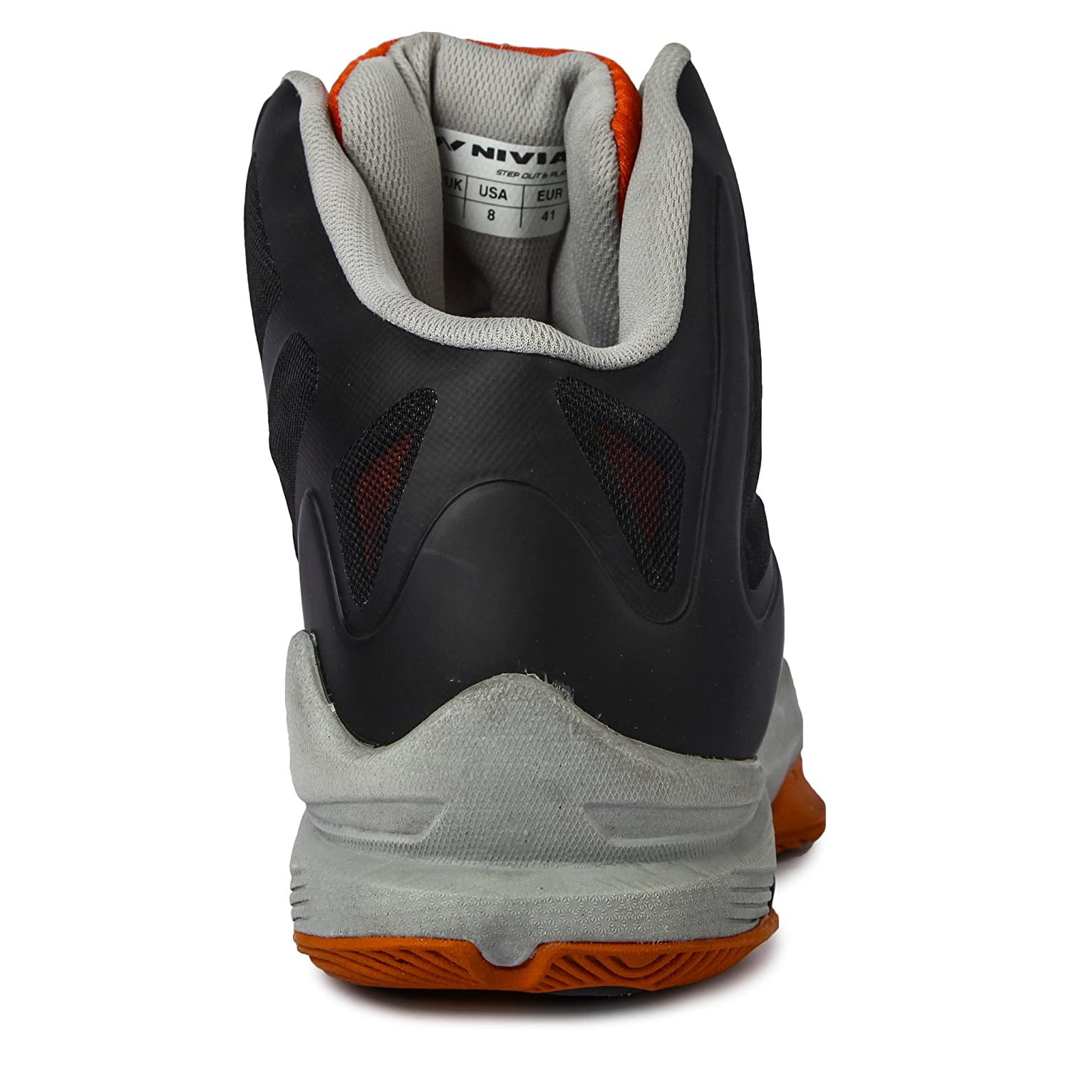 a5c74ab84708 Nivia Typhoon Basketball Shoes  Amazon.in  Sports