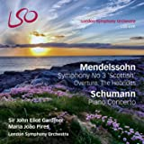 Mendelssohn: Symphony No.3 'Scottish'; Hebrides Overture / Schumann: Piano Concerto (Bonus Blu-Ray audio/video disc)