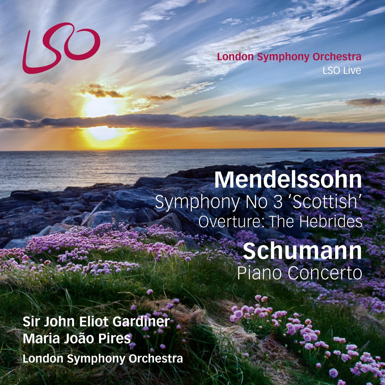 Mendelssohn: Symphony No.3 'Scottish'; Hebrides Overture / Schumann: Piano Concerto (Bonus Blu-Ray audio/video disc)