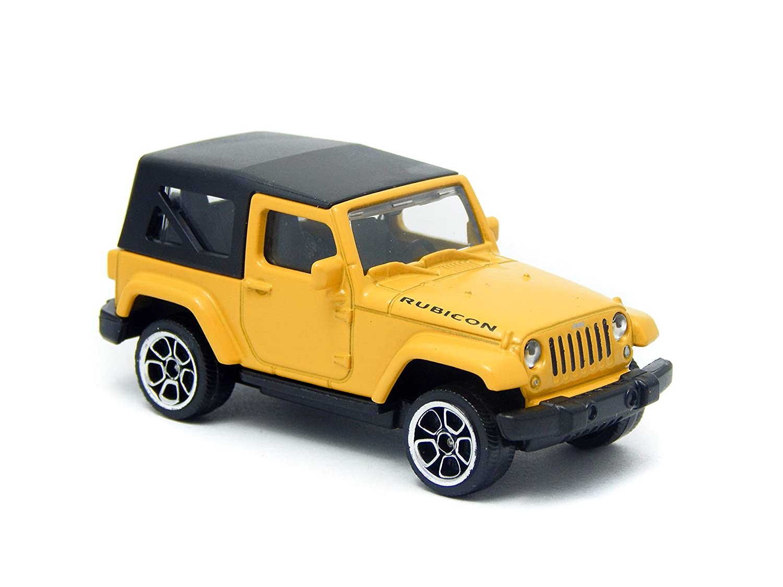 Amazon Com Jeep Wrangler Rubicon 3 Inch Toy Car Toys Games