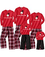 Family Christmas Snowman Pajama Sets Matching for Whole Family Men, Women; Playwear for Kids, Baby