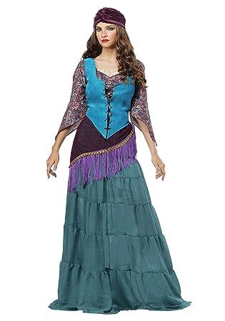 Fun Costumes Fabulous Fortune Teller Gypsy Womens Plus Size Fancy