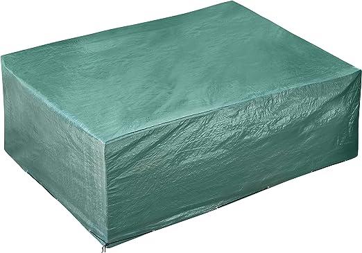 GardenMate Housse de protection pour meubles de jardin 250x200x80cm en PE  premium 120g/m² - VERTE