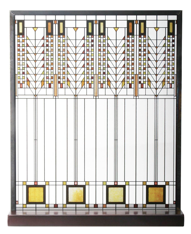 amazon com frank lloyd wright tree of life window stained glass