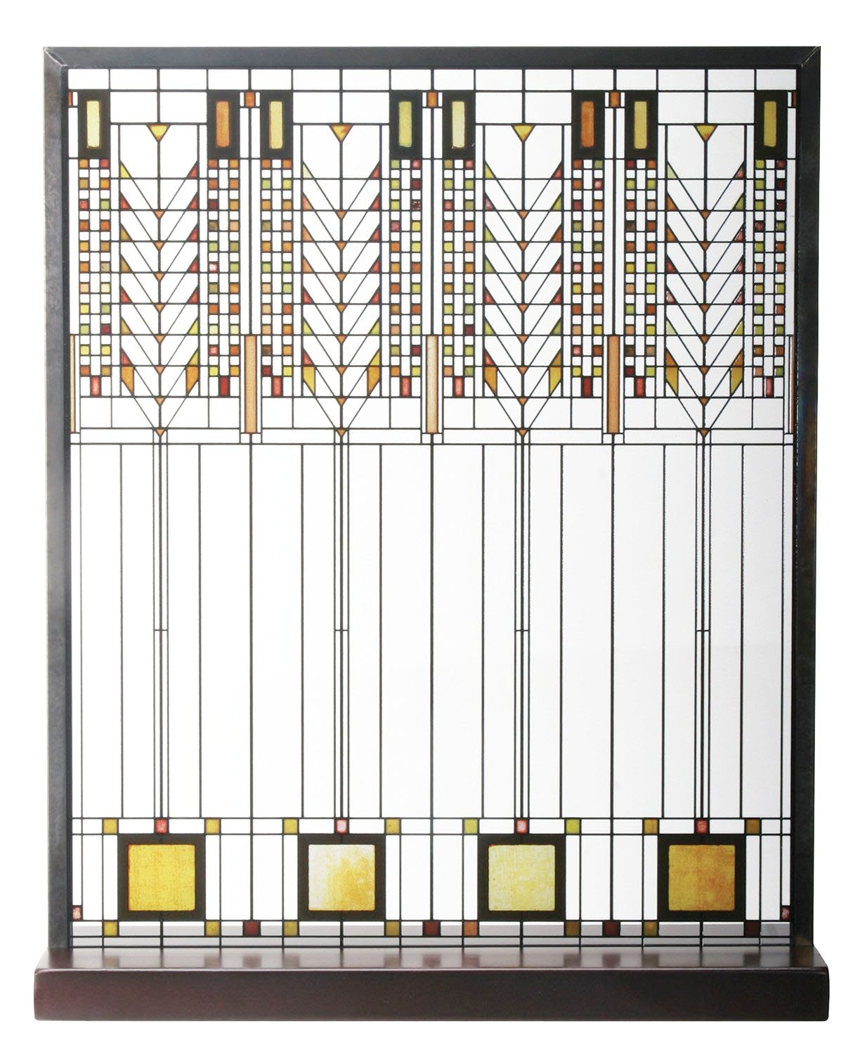 Frank Lloyd Wright Tree of Life Window Stained Glass