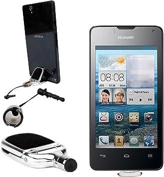 DURAGADGET Lápiz Stylus 3 En 1 Soporte-Limpiador-Puntero Huawei ...